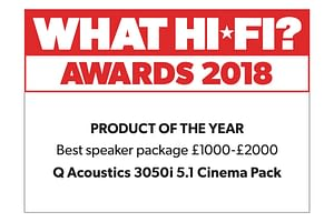 QAcoustics cinema pack reviews and awards