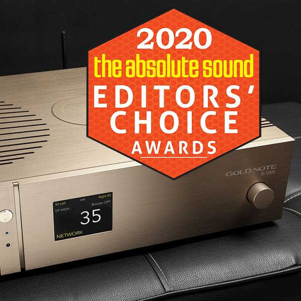 Gold Note IS-1000 Review Award 2020